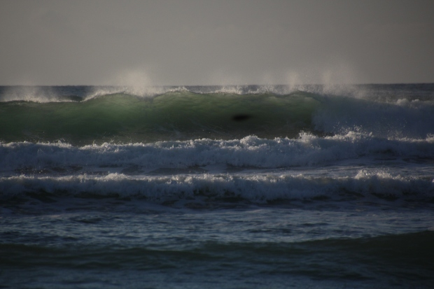 Surf at Poldhu Cove, 10-12-12