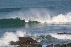 Waves at Godrevy 20-01-13